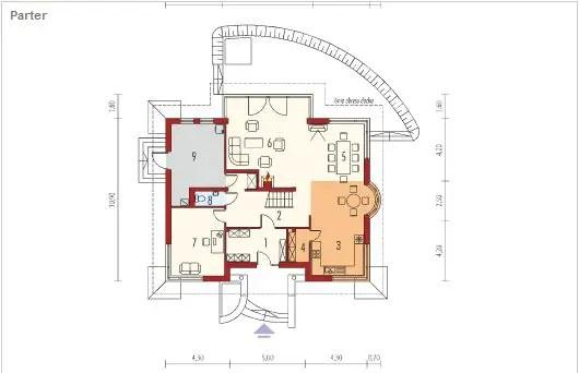 case cu bovindou Bay window house plans 11