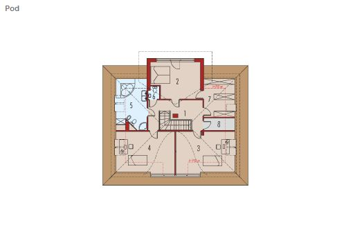case cu bovindou Bay window house plans 12