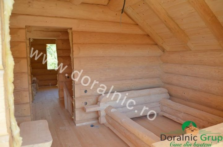 case ieftine din lemn rotund Cheap log houses 4