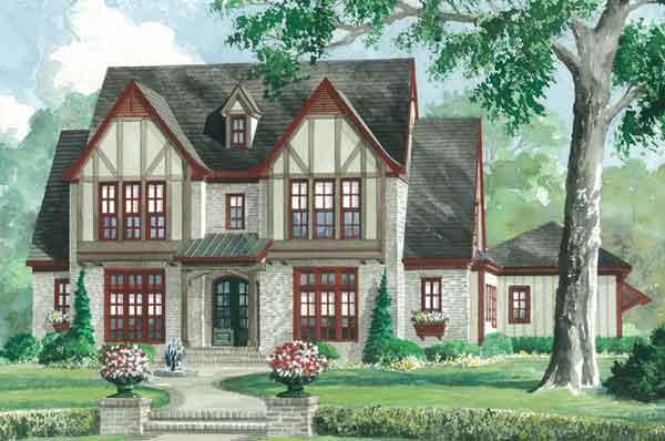 Case in stil tudor arhitectura nobila for Tudor style home plans
