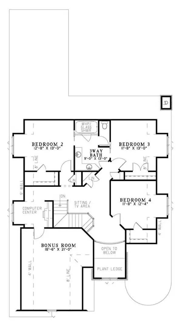 case in stil Tudor Tudor style house plans 9