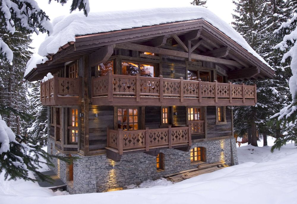 Case in stil elvetian intre rustic si modern case practice for Swiss chalet house designs