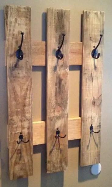 cuiere rustice din lemn Rustic wood coat racks 8