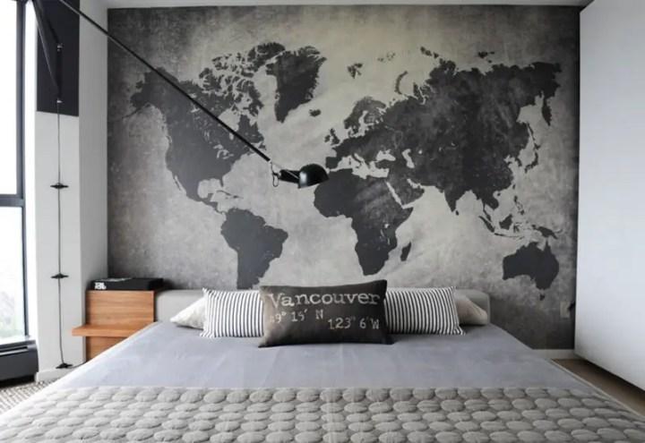 design interior pentru cei pasionati de calatorii travel-themed design ideas