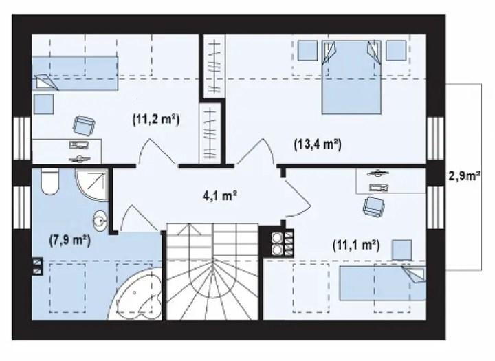 proiecte de case ieftine cu mansarda House plans that are cheap to build 3