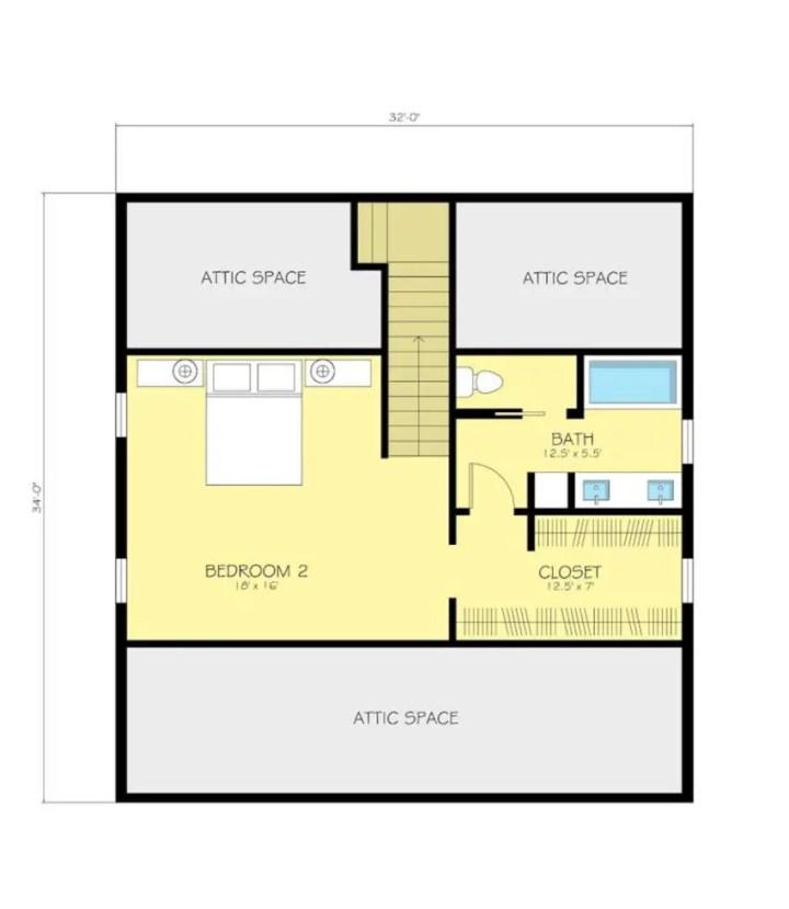 proiecte de case ieftine cu mansarda House plans that are cheap to build 7