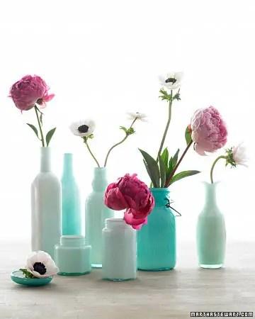 vaze din borcane facute in casa Mason jar flower vases 10