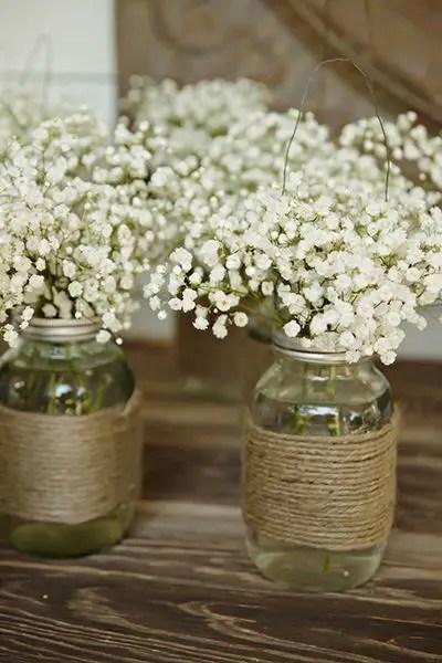 Vaze din borcane, facute in casa usor