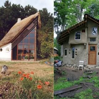 Case din lut si paie ecologice