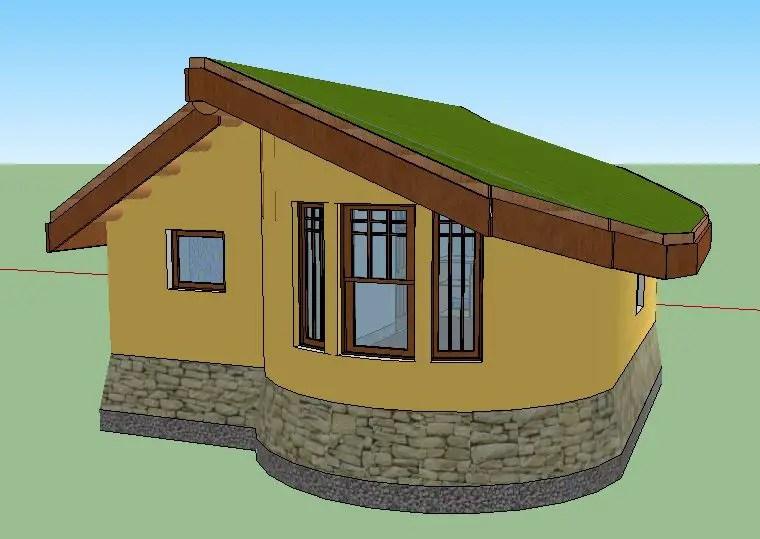 case ecologice construite din lut aproape de natura