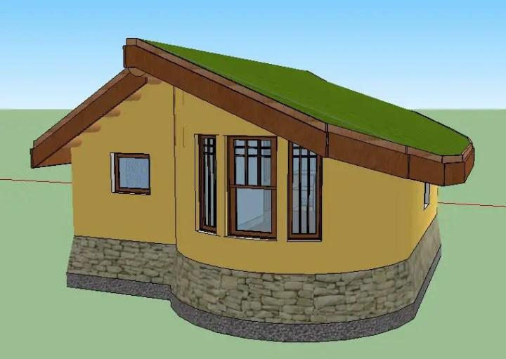 case ecologice construite din lut Natural cob houses 9
