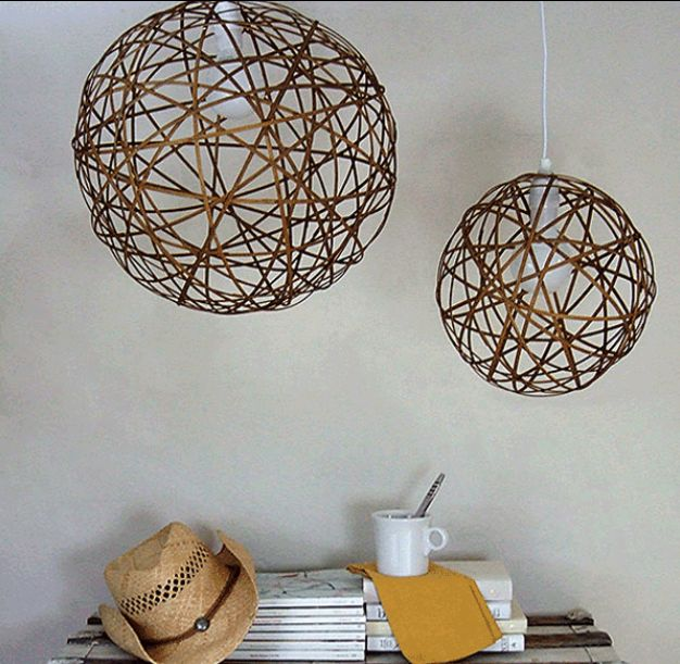 corpuri de iluminat facute acasa DIY lighting ideas 13