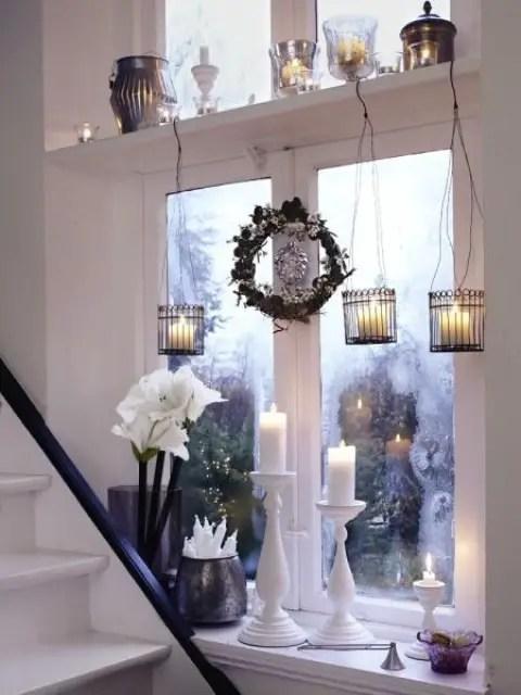 decorarea geamurilor de craciun Christmas window design ideas 13