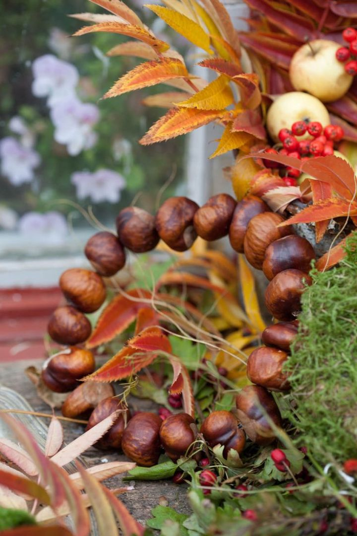 decoratiuni cu castane chestnut decorations 13