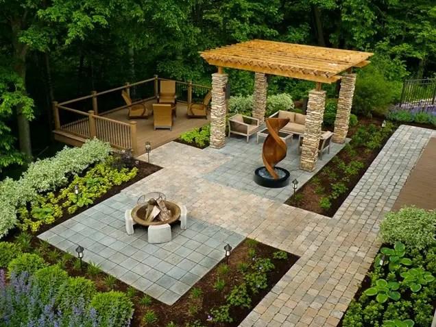 idei pentru pavat curtea yard paving design ideas 12