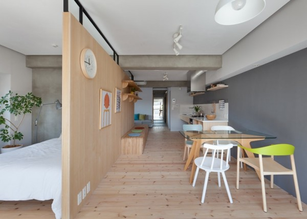 apartamente in stil japonez Japanese style apartments 5
