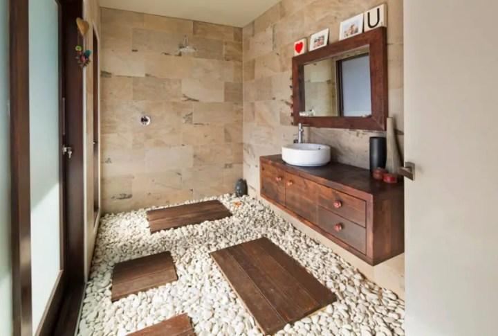 bai decorate cu piatra stone bathroom ideas 9