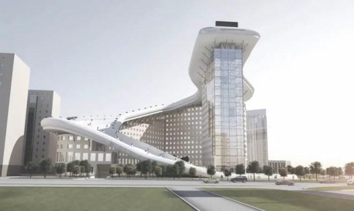 Casa Slalom din Astana