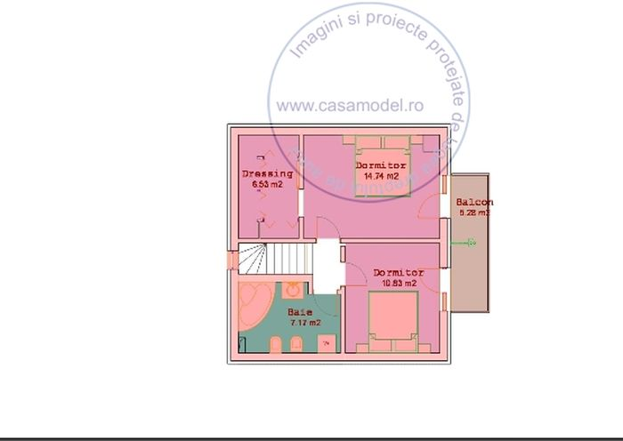 case cu mansarda sub 150 de metri patrati loft houses under 150 square meters 5