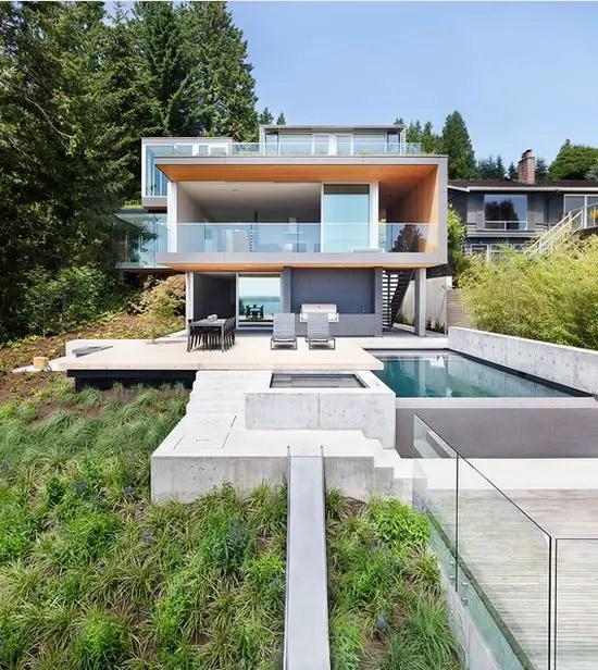 Case cu pereti din sticla eleganta sublima case practice - Casas modulares mallorca ...