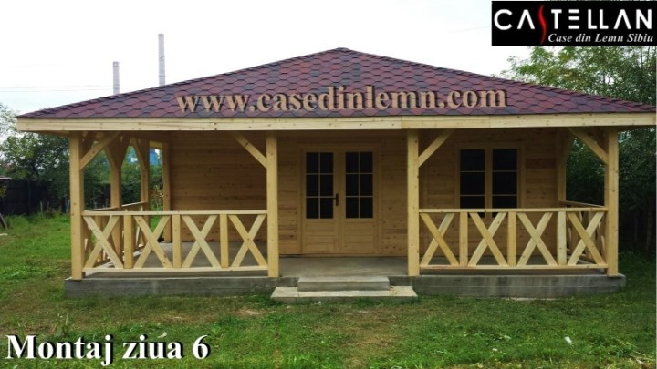 case cu veranda din lemn Wood porch house plans 3