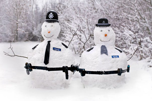 cei mai frumosi oameni de zapada Most creative snowmen 10
