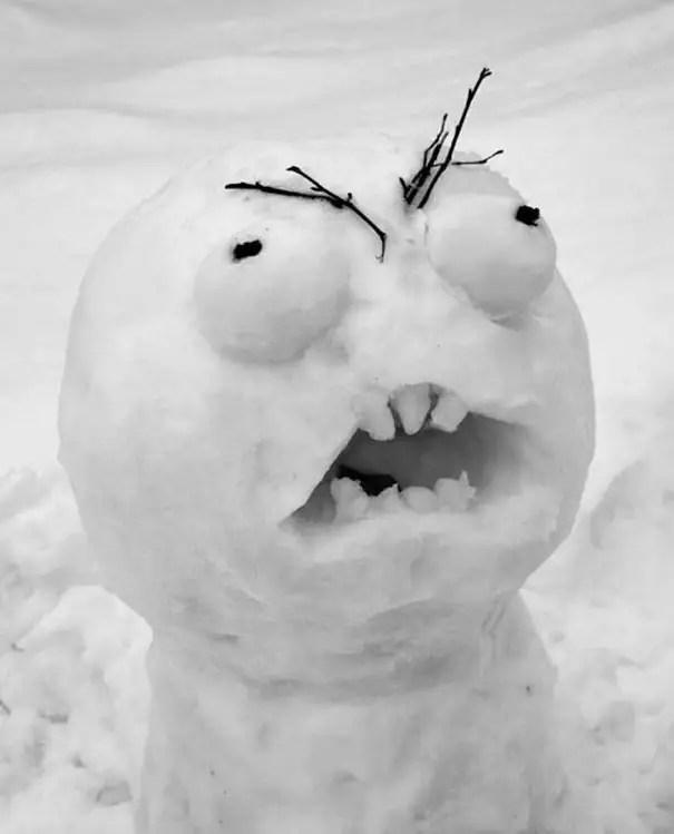 cei mai frumosi oameni de zapada Most creative snowmen 14