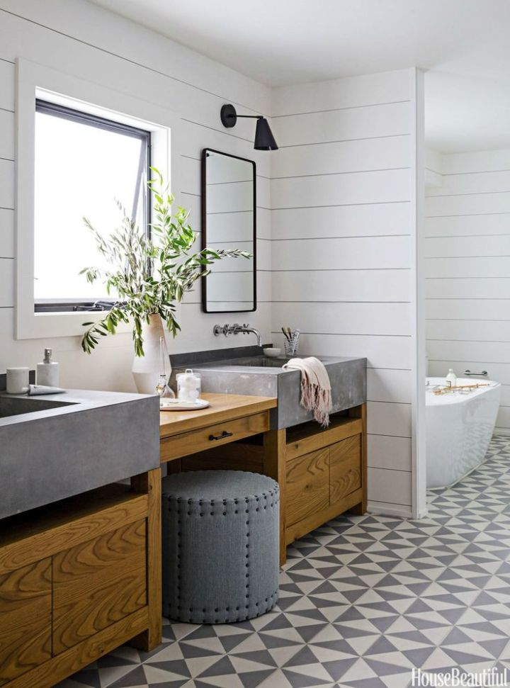 idei pentru amenajarea baii Bathroom decor ideas 14