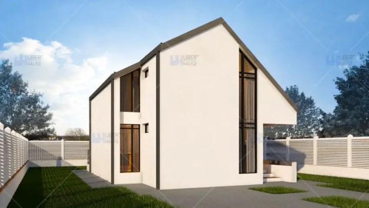 proiecte de case mici cu structura metalica Small steel frame house plans 2