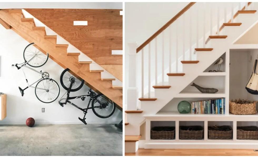 utilizarea spatiului de sub scari