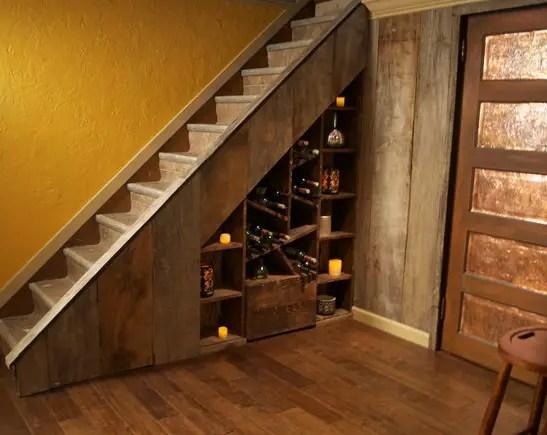 utilizarea spatiului de sub scari under stairs storage ideas 6