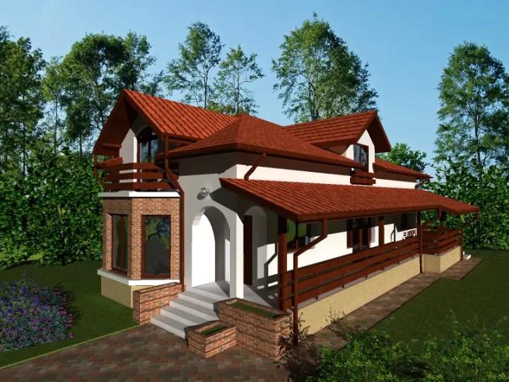 Proiecte de case pe teren cu deschidere mica narrow lot house plans 6
