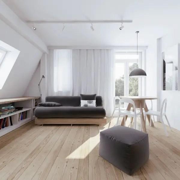 amenajarea unui apartament la mansarda Setting up an attic apartment