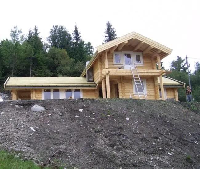 case norvegiene din lemn norwegian wood houses 3