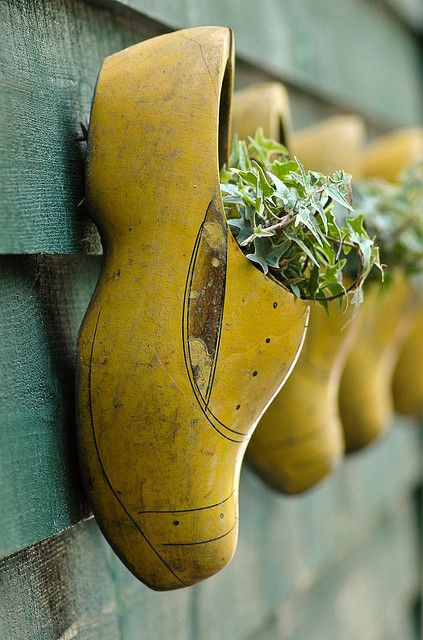 decoratiuni din pantofi shoe planters 6