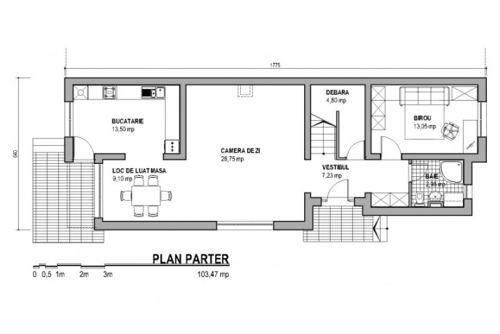 proiecte de case cu etaj si mansarda three story house plans 9