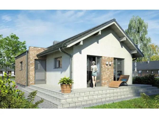 Proiecte de case mici cu terasa acoperita afara