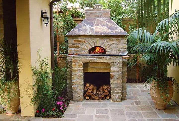 Cuptoare de gradina din piatra outdoor stone ovens 2