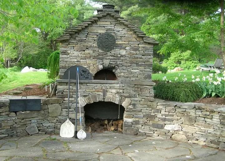 Cuptoare de gradina din piatra outdoor stone ovens 5