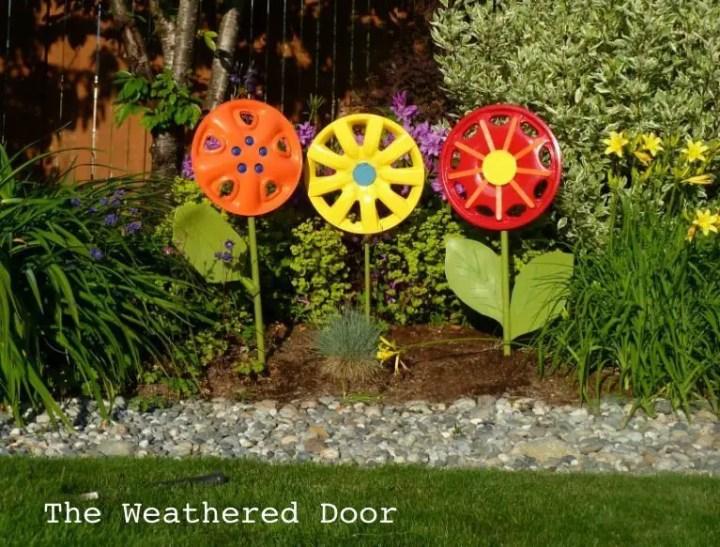 Decoratiuni de gradina facute acasa diy garden decoration ideas 16