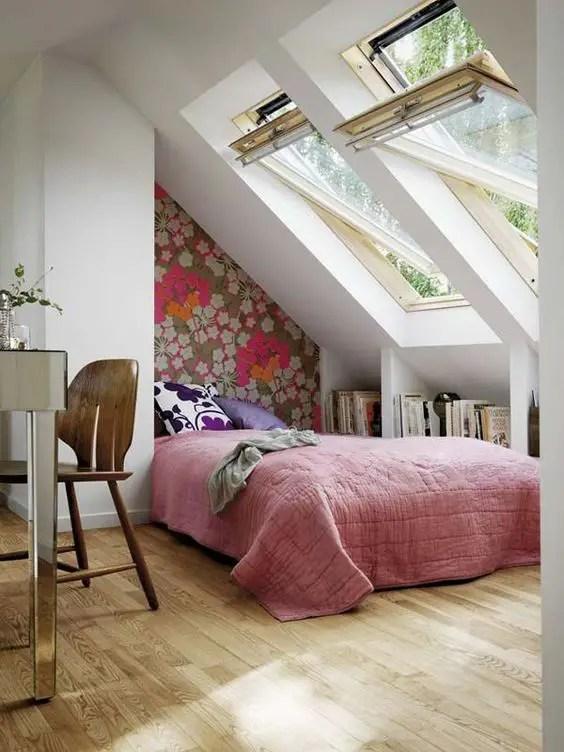 amenajarea unei mansarde mici small attic room design ideas 1