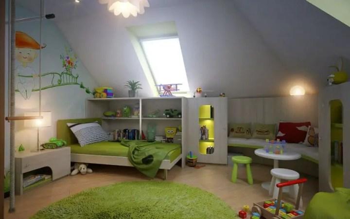amenajarea unei mansarde mici small attic room design ideas 13