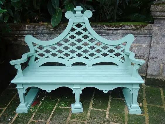banci din lemn pentru gradina Garden wood benches ideas 5