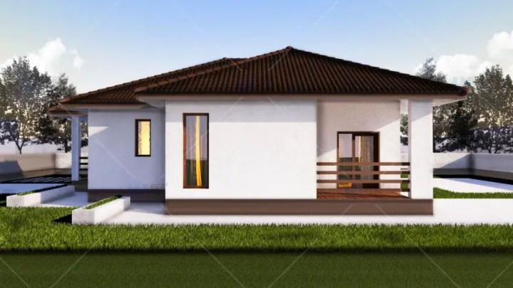 case de vis fara etaj Beautiful one story house plans 2