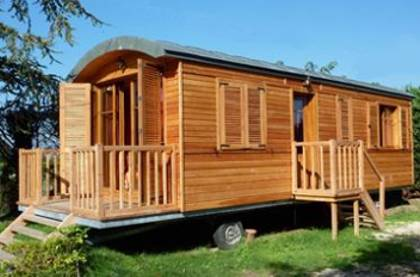 case mobile din lemn Wooden mobile homes 2
