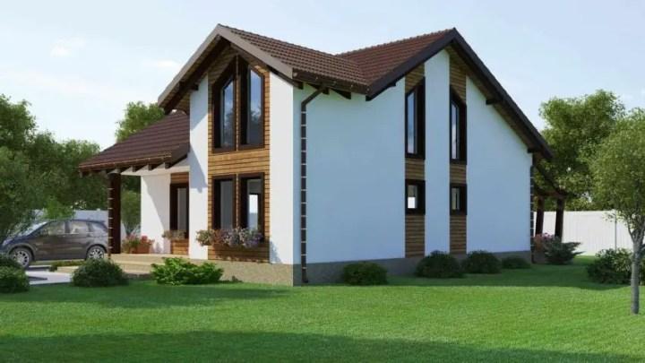 case pe structura usoara Light frame house plans 12