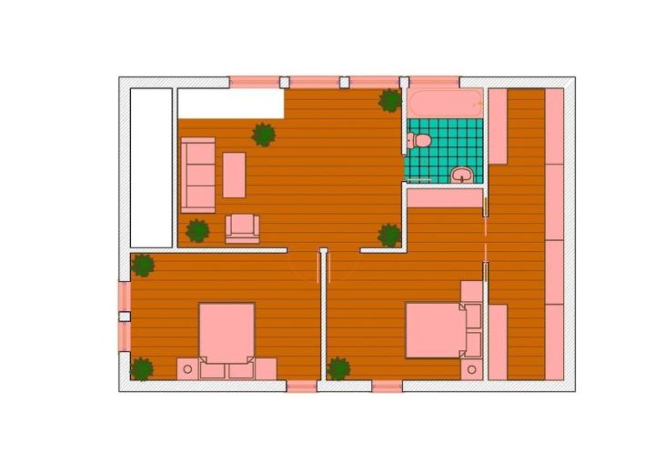 case pe structura usoara Light frame house plans 3