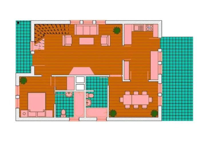 case pe structura usoara Light frame house plans 4