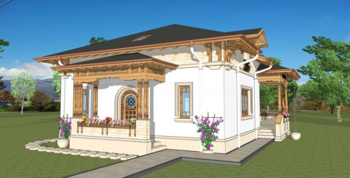case traditionale romanesti romanian traditional houses 11