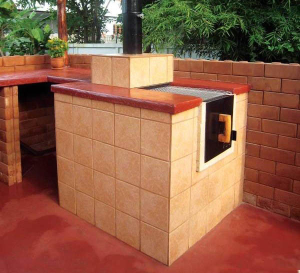 cuptoare de gradina din caramida outdoor brick ovens 1
